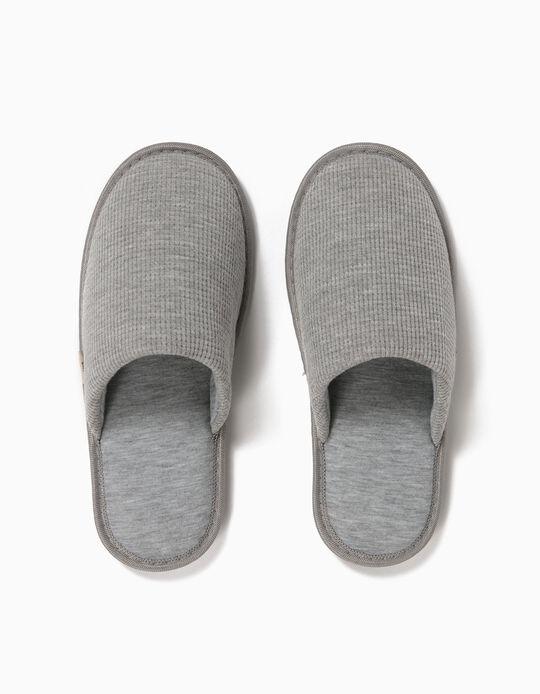 Textured Bedroom Slippers, Women