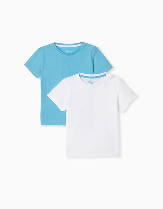 2 Basic T-shirts, Baby Boys