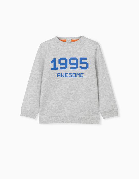 Gamer' Sweatshirt, Babies, Grey