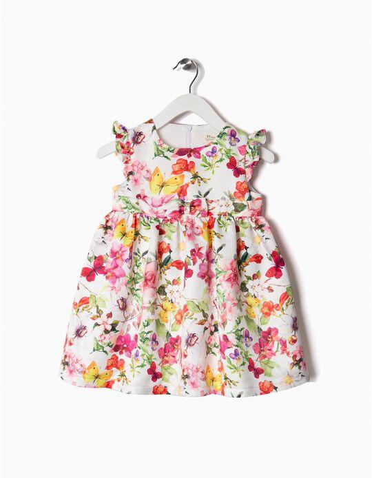 Vestido florido sedoso