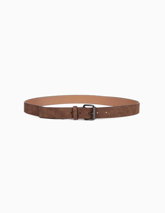 Textured chequere belt