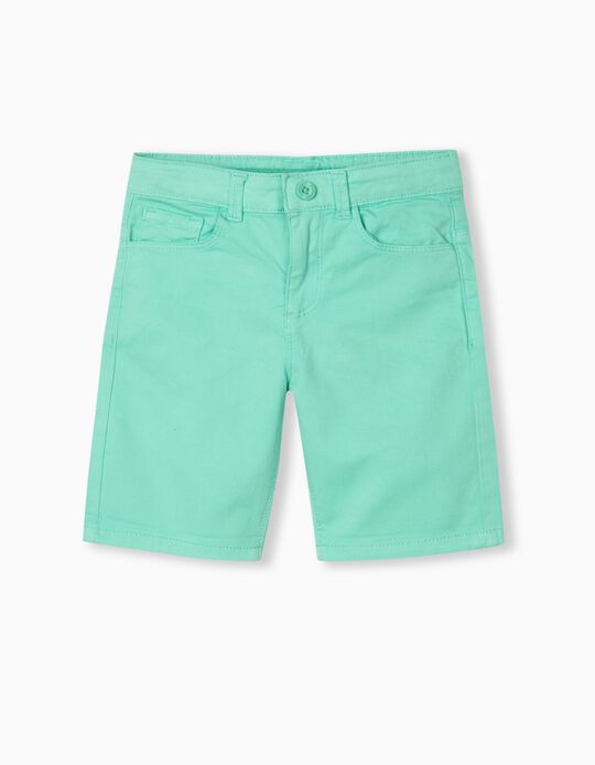 Twill Shorts, Boys