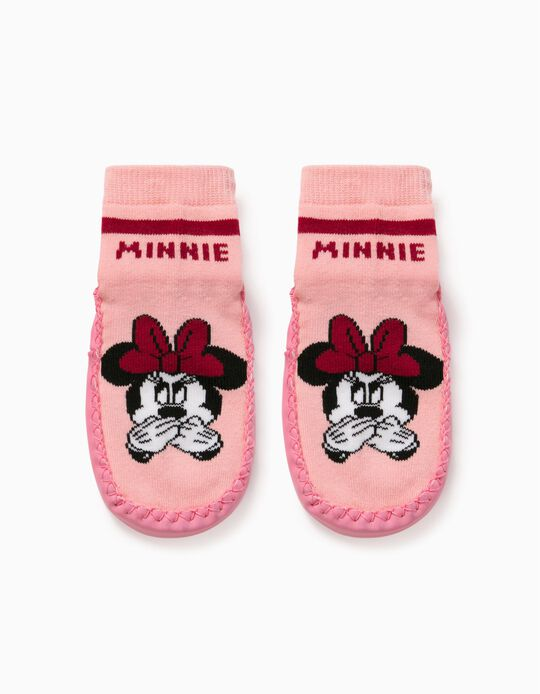 Meias-Pantufas 'Minnie', Menina, Rosa