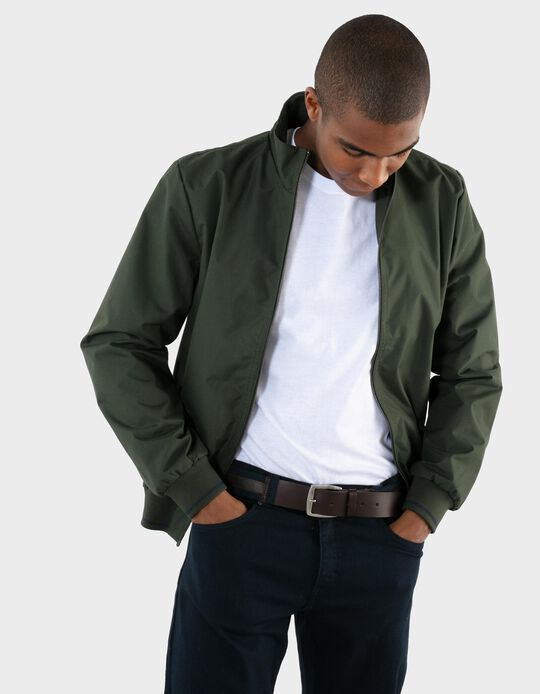Carded Bomber Jacket