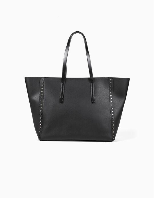 Studded Shopper Bag