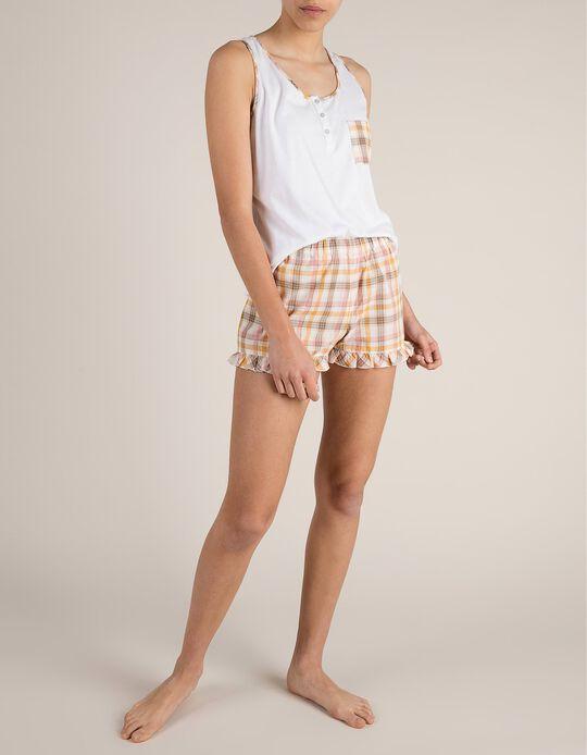 Pijama Com Folhos