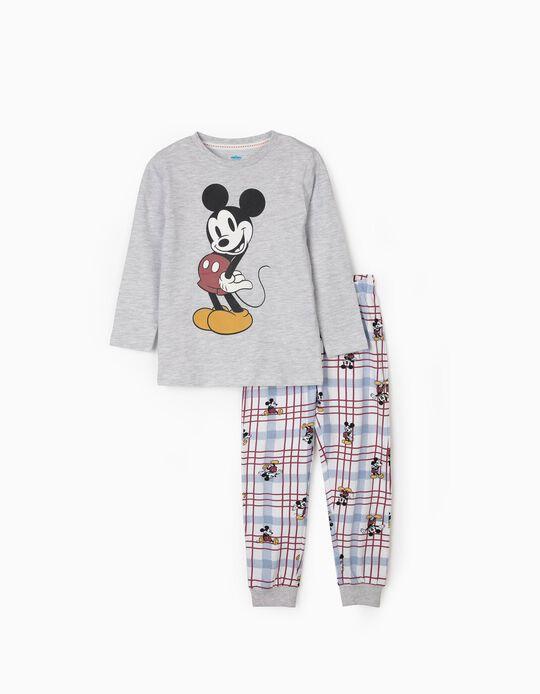 Pyjamas for Boys, 'Mickey Mouse', Grey