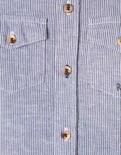 Camisa Manga Curta Riscas Rare and Raw