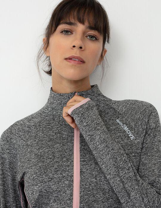 Sports Jacket for Women, Marl Grey