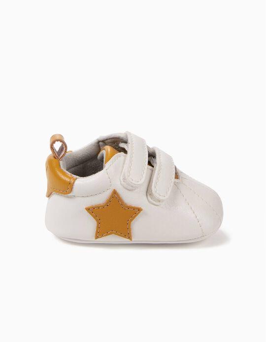 Sapatilhas Pre-Walker Estrelas Amarelas