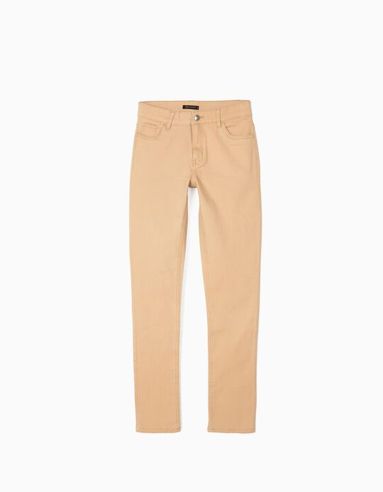 Stretch Skinny Leg Trousers