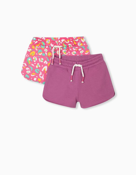 2 Jogger Shorts, Girls