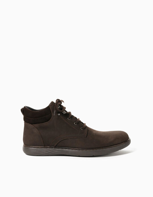 Boots in Genuine Leather, Made in Portugal