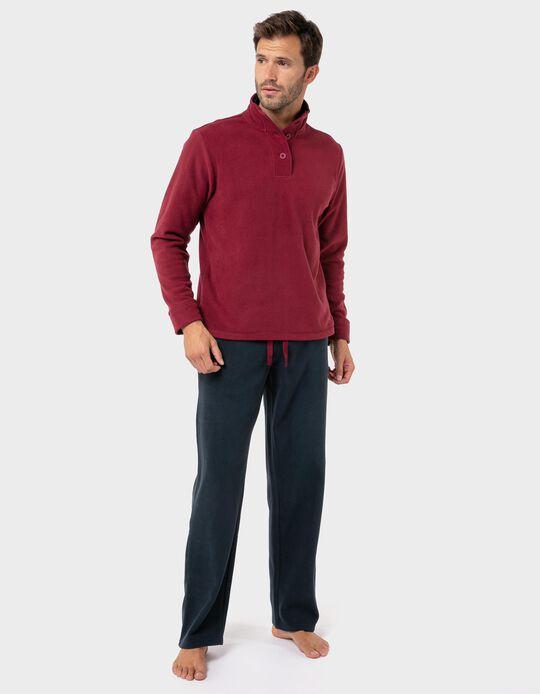 Conjunto de Pijama polar gola subida