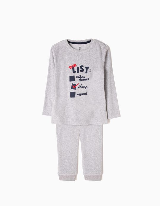 Grey Velour Pyjamas, Checklist