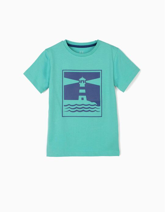 T-shirt for Boys 'Sunny Days', Green