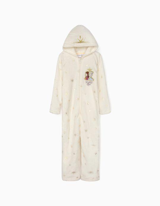 Pijama-Macacão para Menina 'Frozen II', Branco
