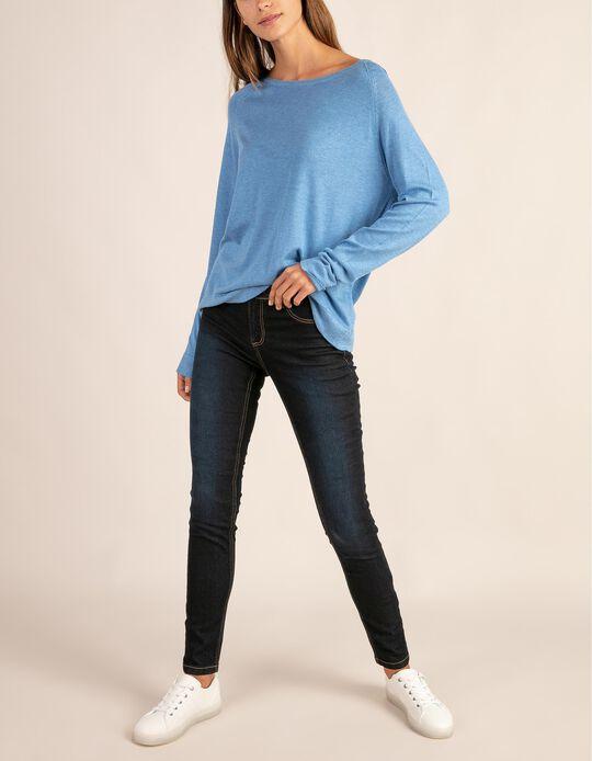 Jeans slim fit em denim