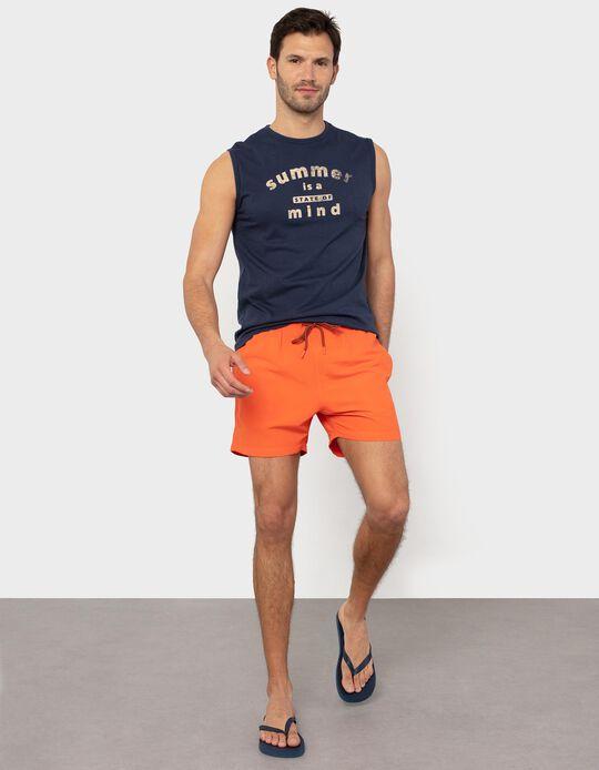 Plain Swim Shorts, Quick Dry
