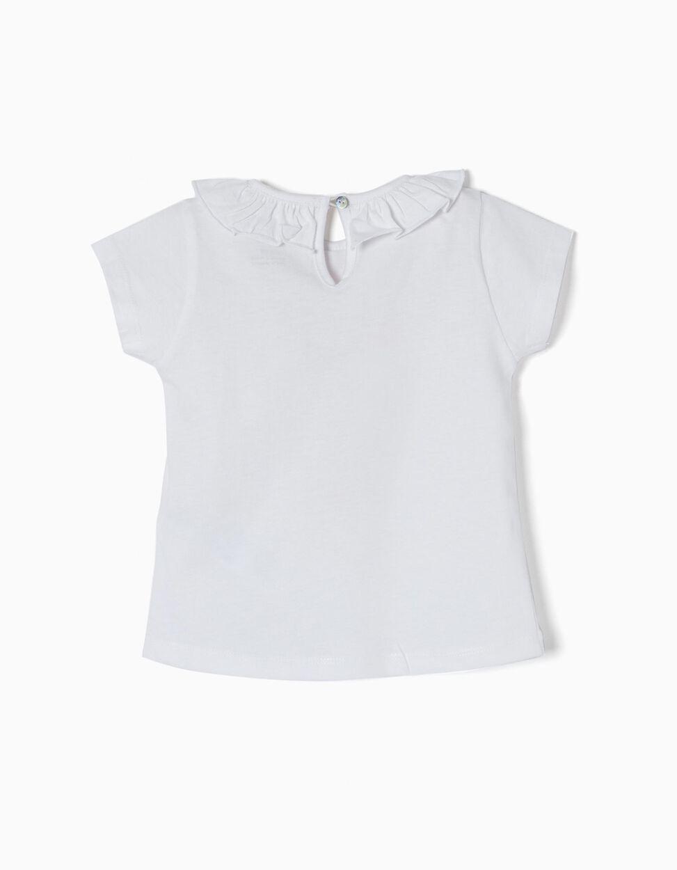 T-shirt Algodão Folho