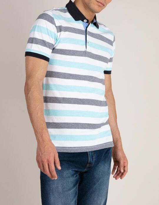 Piqué Polo Shirt, Cotton