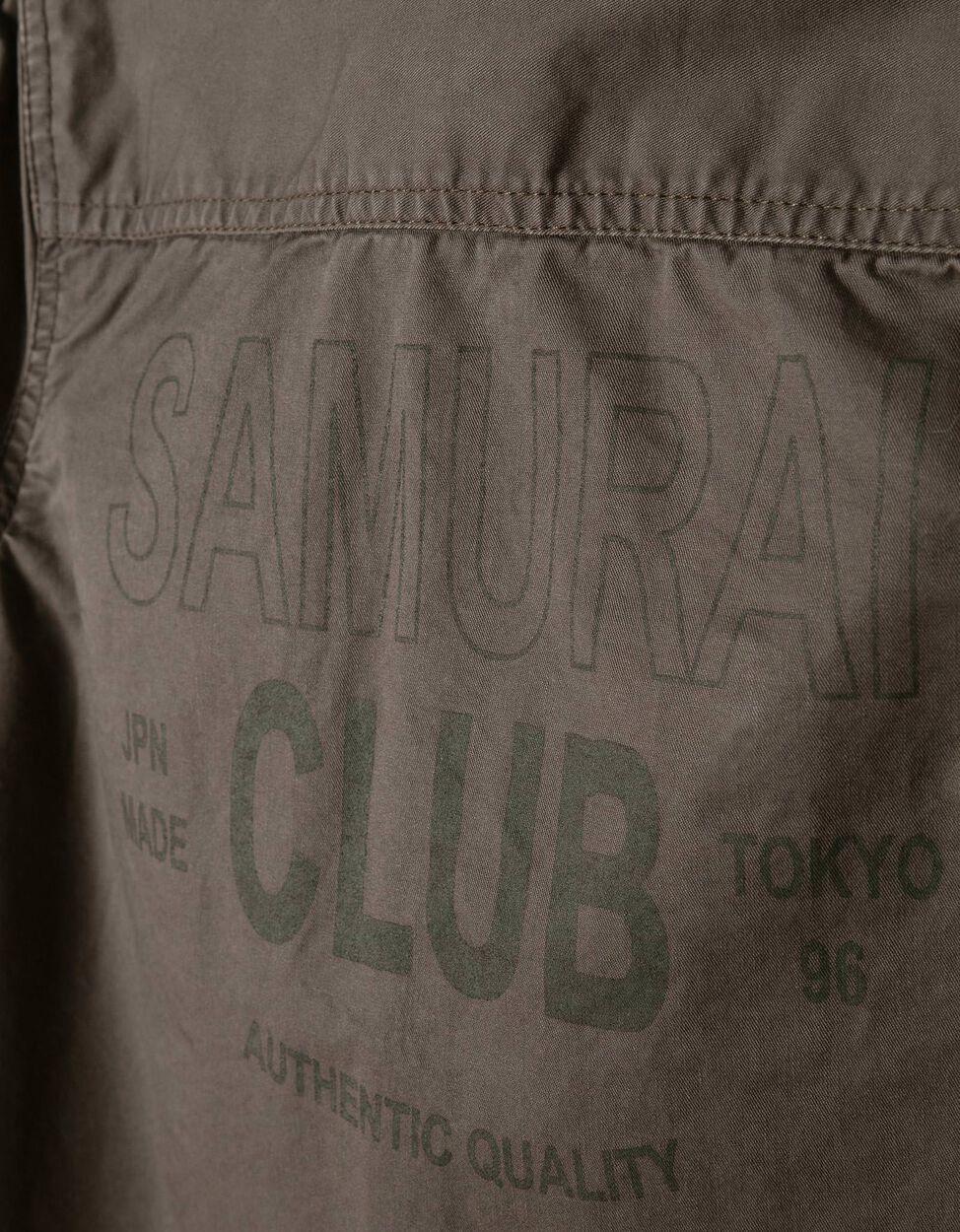 Sobrecamisa Samurai Verde