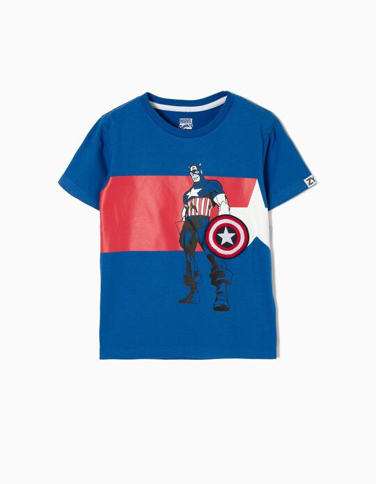 T-shirt Captain America Marvel