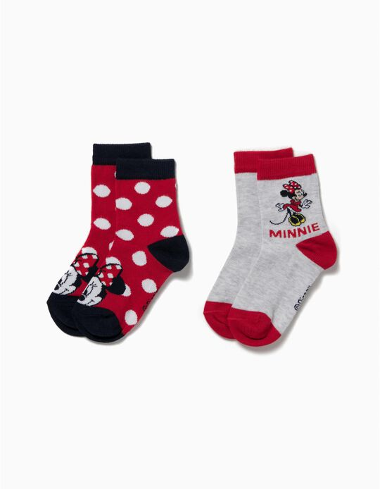 Pack of 2 Pairs of Socks, Minnie