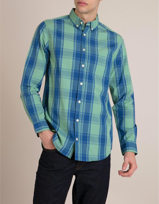 Camisa Xadrez Regular Fit