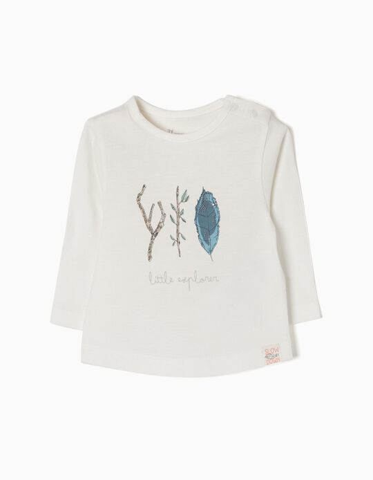 Long-Sleeved T-Shirt, Little Explorer