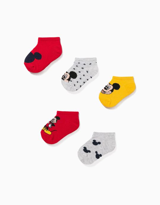 5 Pairs 'Disney' Trainer Socks for Baby Boys