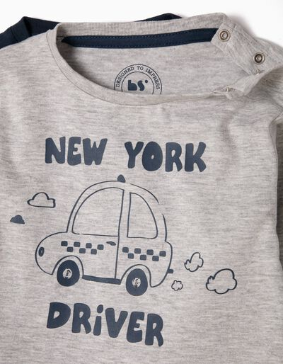 Pack 2 T-Shirts New York Driver