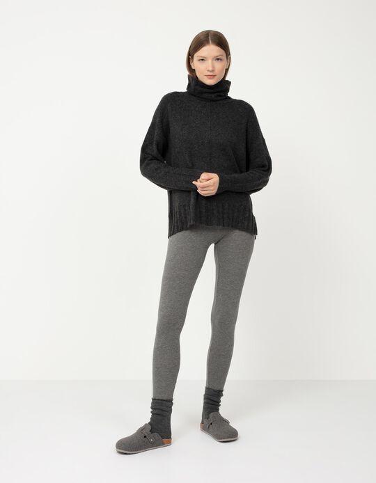 Basic Leggings, Grey
