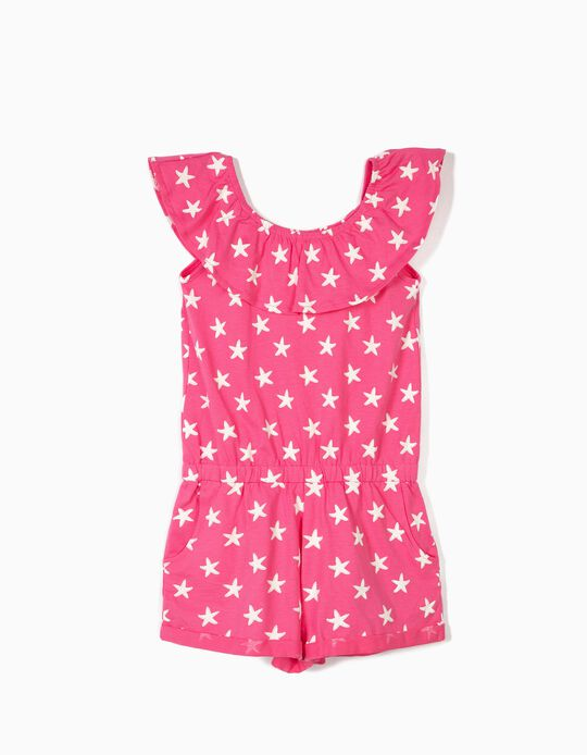 Macacão para Menina 'Starfish', Rosa
