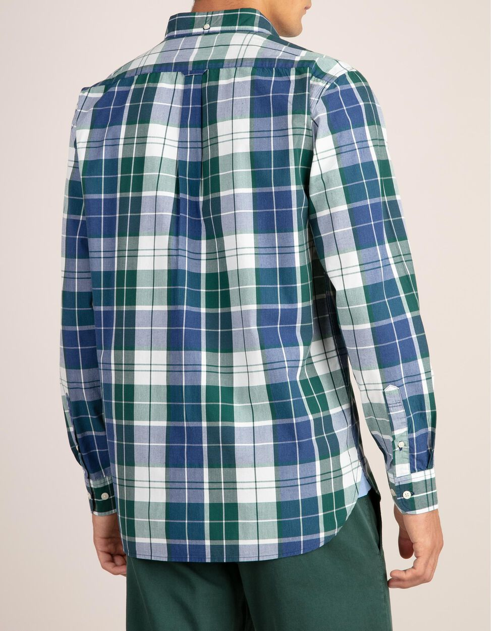 Camisa xadrez com bolso