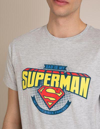 Pijama Superman Especial Dia do Pai