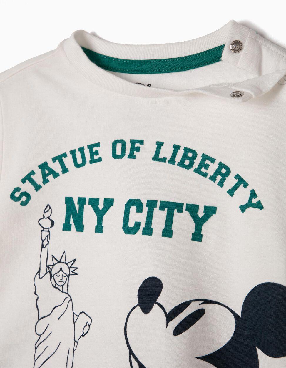 T-shirt e Calções Mickey Statue of Liberty