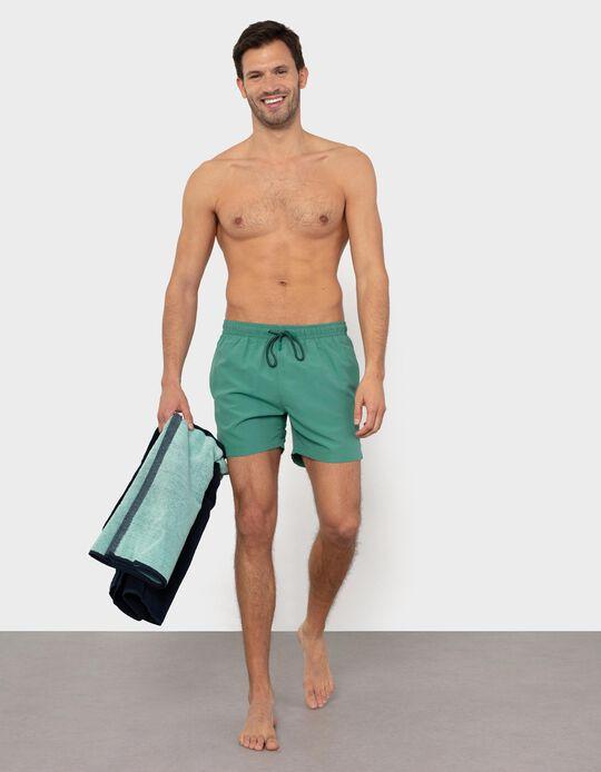 Plain 'Quick Dry' Swim Shorts