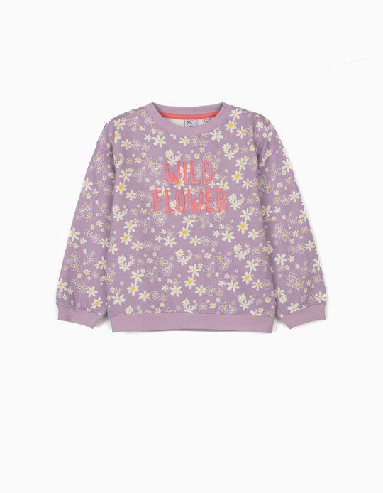 Carded Sweatshirt for Girls