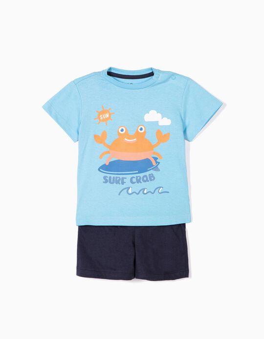 Conjunto Surf Crab
