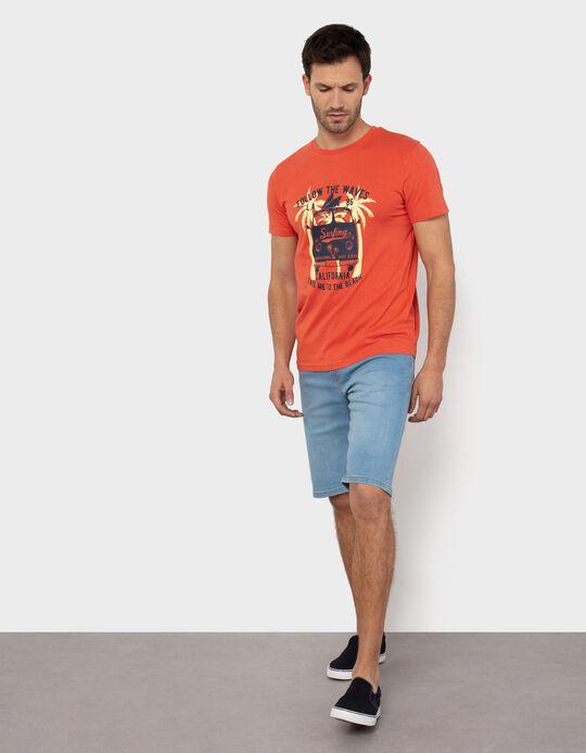 T-shirt para Homem, 'Surfing'
