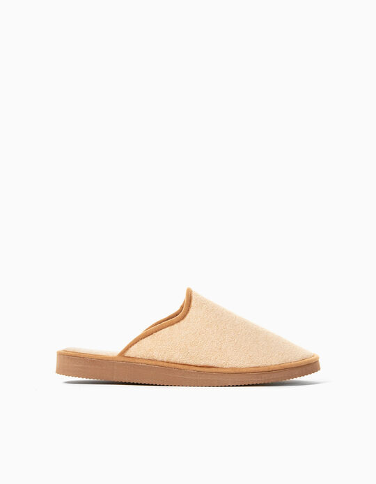 Bedroom Slippers for Women, Beige