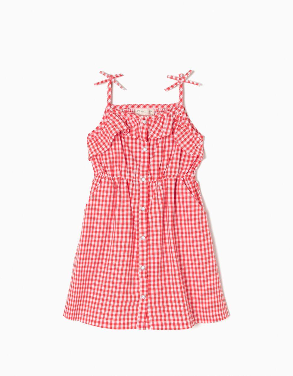 Vestido de Alças Vichy
