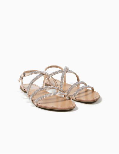 Sandálias Brilhantes