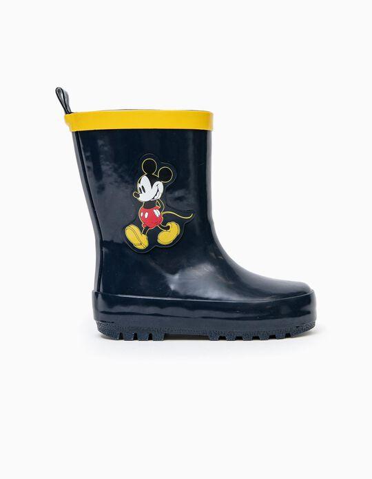 Wellies for Baby Boys 'Mickey', Dark Blue