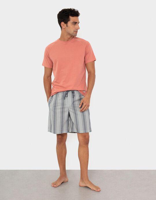 Calções de Pijama, Homem, Bege