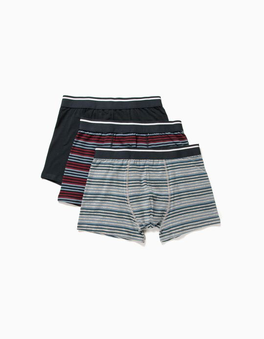 Assorted Boxer Shorts, pack of 3