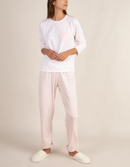 Conjunto de pijama estampado