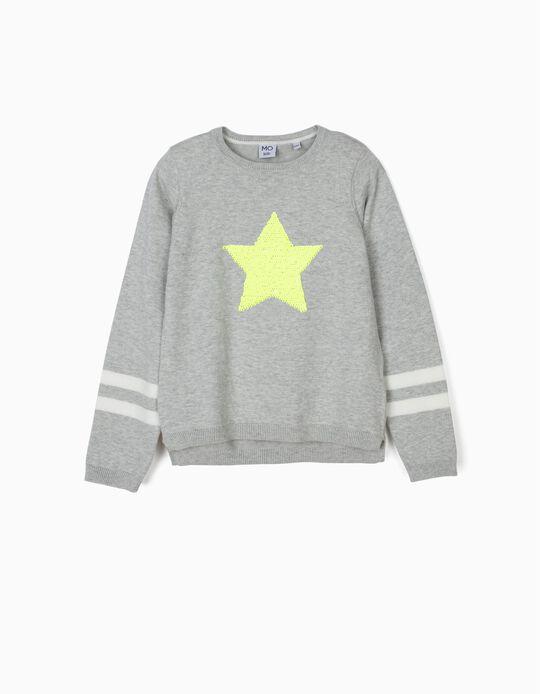 Camisola de malha estrela