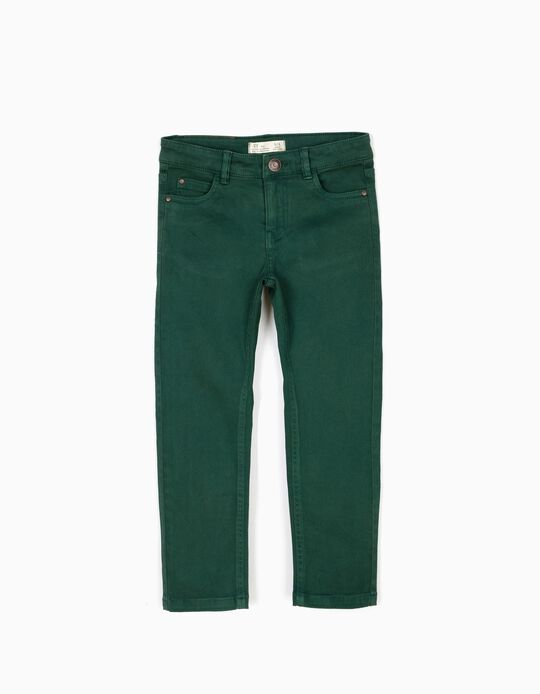 Calças Sarja Verdes